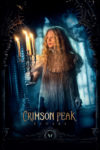 "Poster for the movie ""Crimson Peak"""
