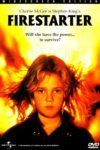 "Poster for the movie ""Firestarter"""